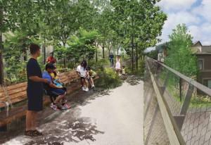 הפיכת מרחבים עירוניים נטושים לפארקים לטובת הציבור. שיקגו