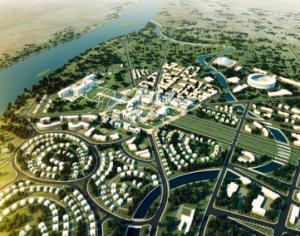 עיר הבירה החדשה של דרום סודן - הדמיה