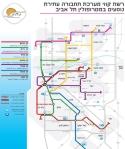 מפת הרכבת הקלה