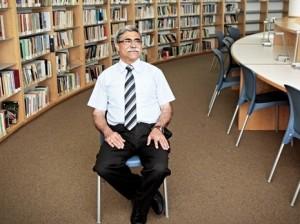ראמז ג'ראיסי ראש עיריית נצרת. צילום רענן כהן