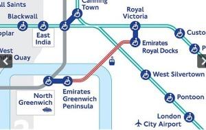 """הרכבת התחתית של לונדון - תחנות ע""""ש חברת התעופה של אמרירויות"""