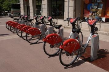 ליון- שירות השכרת האופניים הטוב באירופה