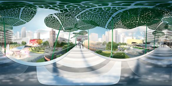 האם כך תיראה לונדון ב-2050?