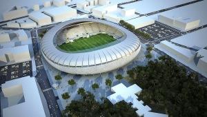 אצטדיון בלומפילד המקורה, הדמיה