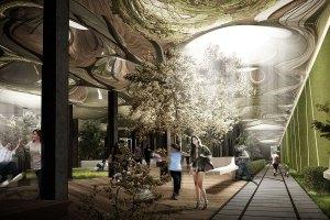 פארק תת קרקעי בניו יורק