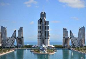 הבניין הגבוה בעולם, באקו, אזרביג'אן