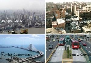 4 ערים, 4 סרטים דוקומנטריים, על החיים בערי הענק ברחבי העולם