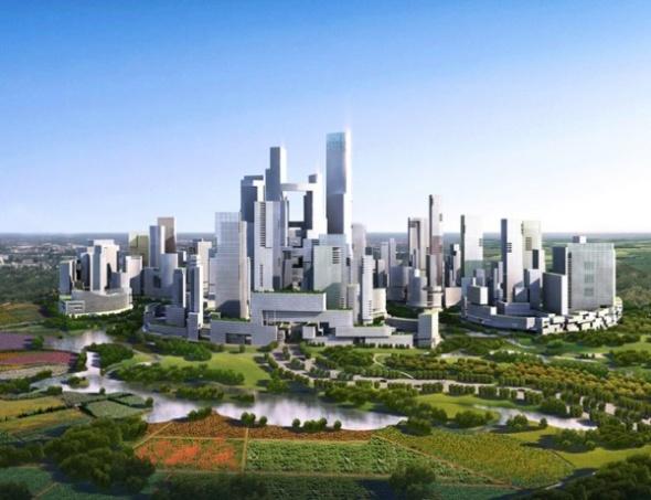 העיר בה הכל במרחק הליכה. סין