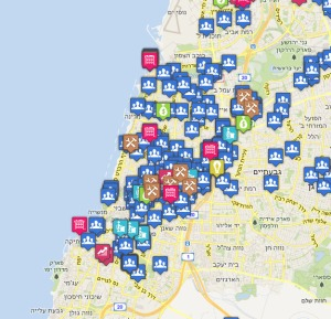 מפת הסטארטאפים בתל אביב