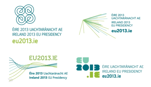 לוגו אירלנד נשיאת האיחוד האירופי - 4 ההצעות
