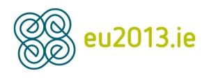 לוגו אירלנד נשיאת האיחוד האירופי
