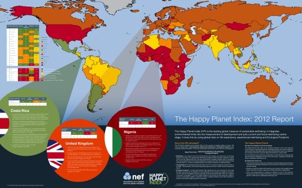 המדינות המאושרות בעולם