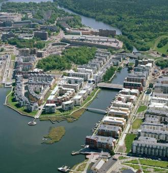Hammarby Sjöstad שטוקהולם