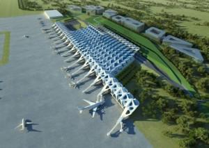 שדה התעופה החדש בלונדון בעיצוב זאהה חדיד