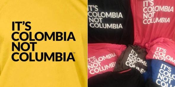 איך כותבים קולומביה