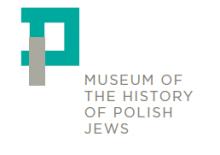 לוגו המוזיאון להיסטוריה של יהודי פולין