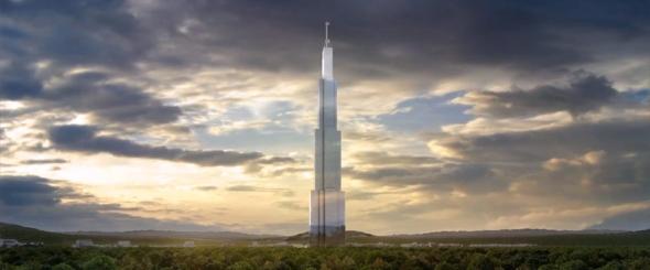 עיר שלמה, בבניין הגבוה בעולם 1