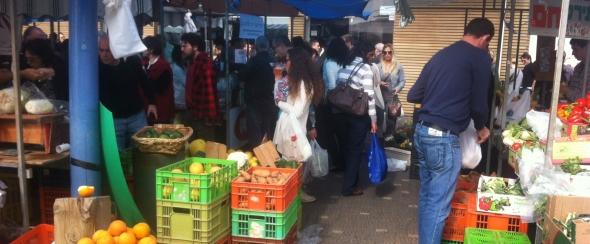 שוק האיכרים נמל תל אביב