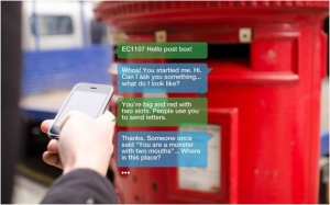 תיבת דואר מדברת בבריסטול