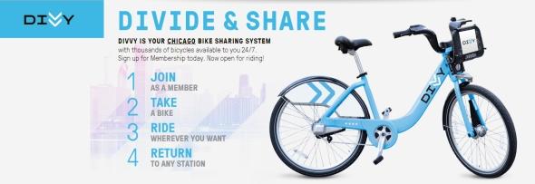 שיתוף אופניים שיקגו