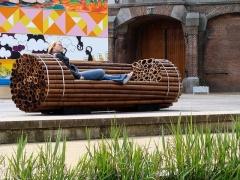 ספסל במבוק. אמסטרדם