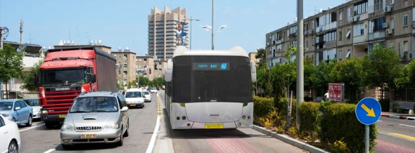 המטרונית חיפה. BRT