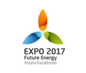 לוגו אקספו 2017, אסטנה, קזחסטן
