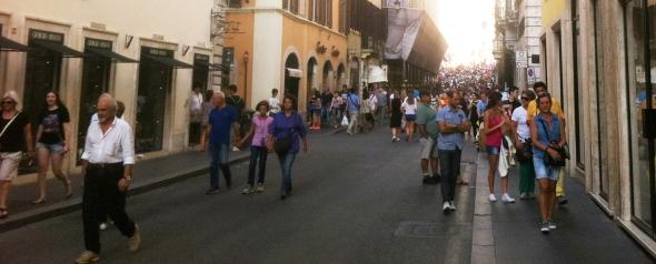 עיר טובה להולכי רגל - רומא