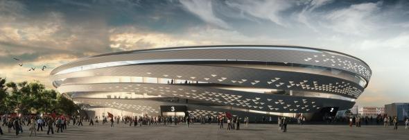אצטדיון בלומפילד המחודש. פרטים אדריכלים