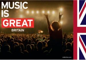 מוסיקה - חלק ממיתוג בריטניה