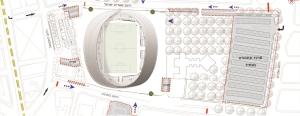 תכנית אצטדיון בלומפילד המחודש
