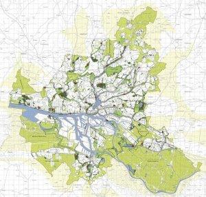 המבורג, רשת עירונית ירוקה