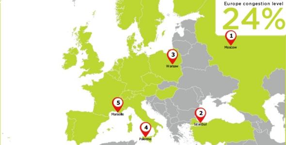 הערים הפקוקות ביותר באירופה