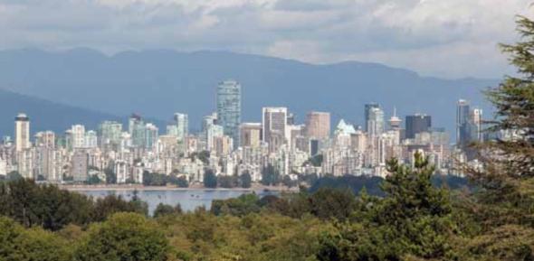 וונקובר - פרס על מדיניות הבנייה הירוקה