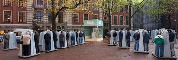 לא מבזבזים אף טיפה: שתן זה טוב לסביבה - אמסטרדם