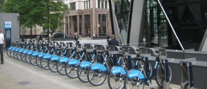 תחנת השכרת אופניים בלונדון