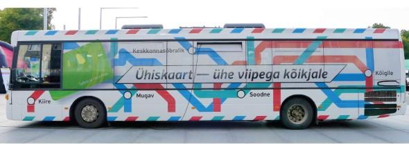 מערכת המידע לתחבורה הציבורית בטאלין שזכתה בפרס