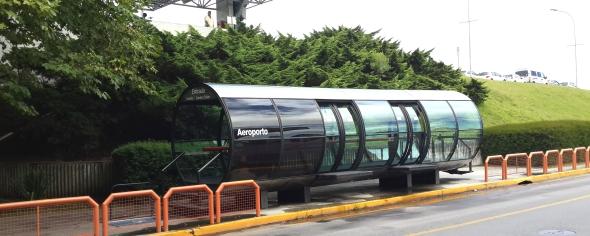 תחנת ה-BRT בשדה התעופה בקוריטיבה