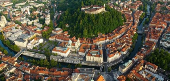 לובליאנה - הבירה הירוקה של אירופה 2016