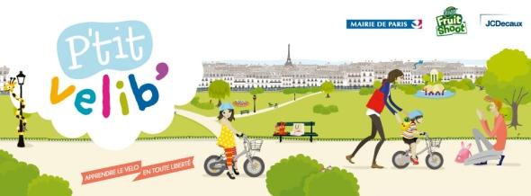 שיתוף אופניים לילדים בפריז