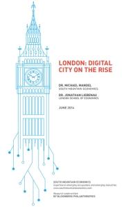 לונדון, עיר דיגיטלית בצמיחה