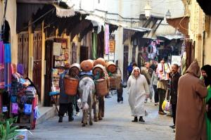פז אל באלי, מרוקו. עיר ללא מכוניות