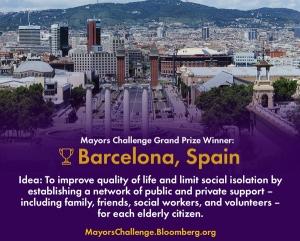ברצלונה- הזוכה בתחרות בלומברג לערים