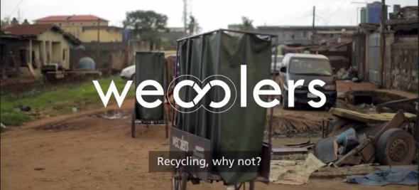 מיחזור בכוח הדוושות- ניגריה