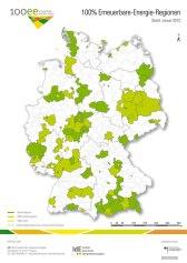 גרמניה - האזורים שעברו לאנרגיות מתחדשות