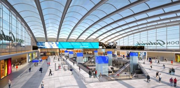 שדה התעופה גטוויק לונדון