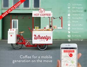 בית קפה שלם על גלגלים