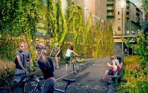 חניון אופניים בשטוקהולם