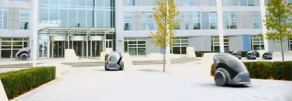 מילטון קיינס. מכוניות אוטונומיות