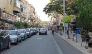רחוב שנקין תל אביב - זה ציר ירוק?